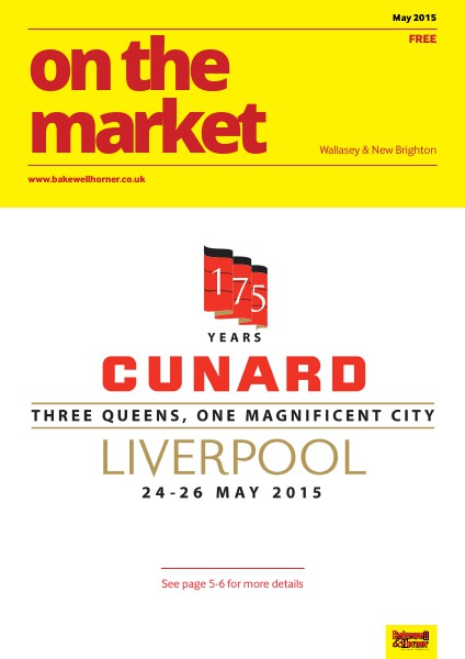 On The Market - Wirral's No1 Property Magazine May 2015