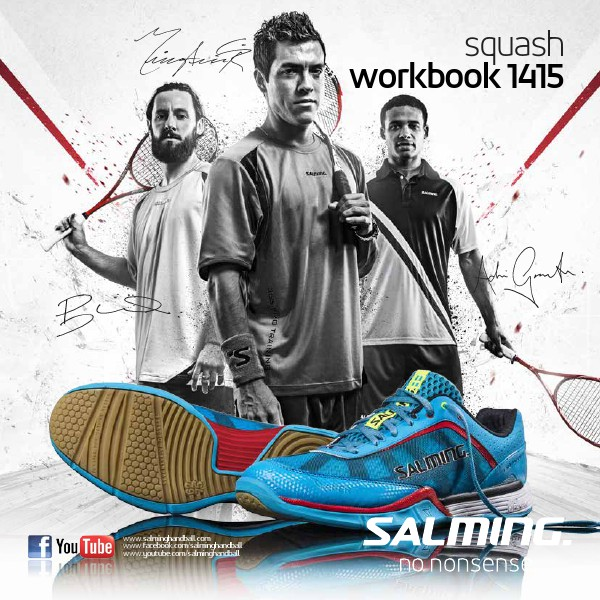 Salming Catalogues Squash 2014