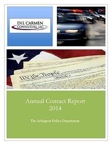 Racial Profiling Reports