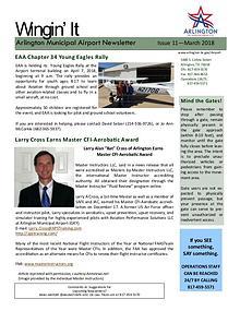 Wingin' It - Arlington Municipal Airport Newsletter