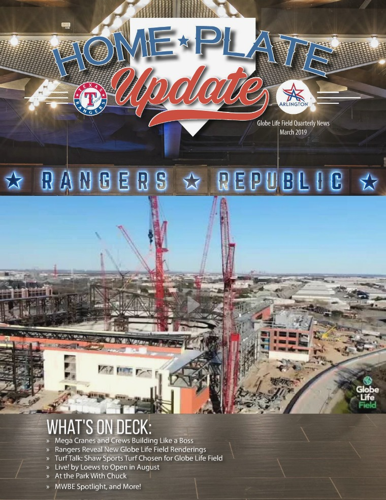 Home Plate Update March 2019