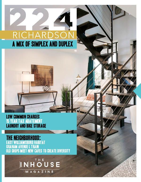 The InHouse Magazine 224 Richardson-5 Unit Condo Building