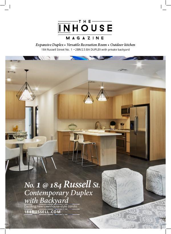 The InHouse Magazine 184 Russell No. 1