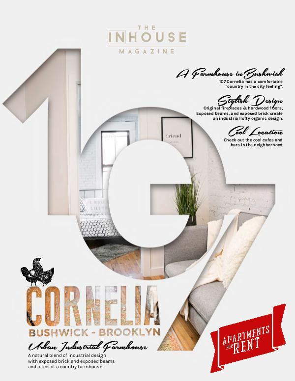 The InHouse Magazine 107 Corneilia, Farmhouse Inspired Rentals