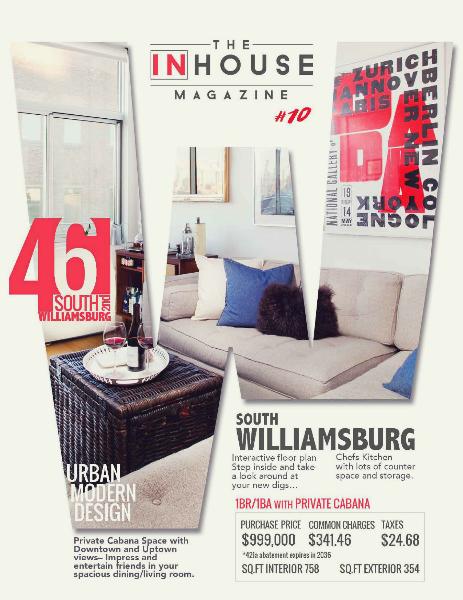 The InHouse Magazine S. Williamsburg Urban Modern Design || 42 S. 2nd
