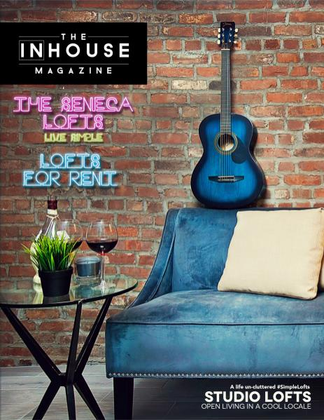 The InHouse Magazine Studio Lofts for Rent || The Seneca Lofts