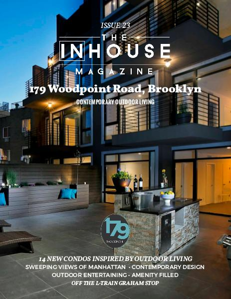 The InHouse Magazine 179 Woodpoint // Contemporary Outdoor Living