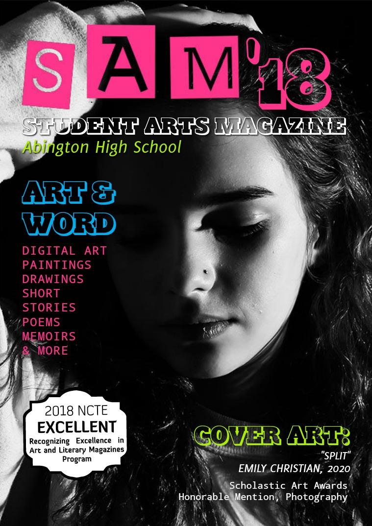 Abington High School Student Arts Magazine 2017-2018