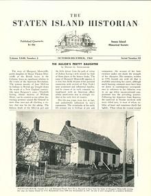 Staten Island Historian