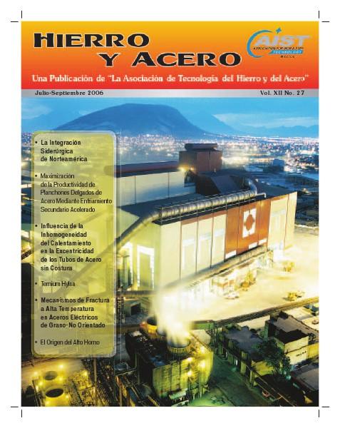 Hierro y Acero Edición 27