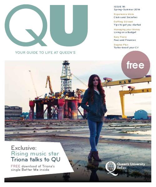 QU ISSUE 16: Spring–Summer 2014