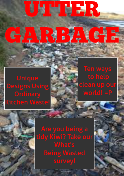 Utter Garbage Issue 1 and also the Last Issue, March, 2014