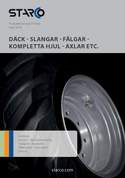 STARCO Produktkatalog & Prislista April 2014 (