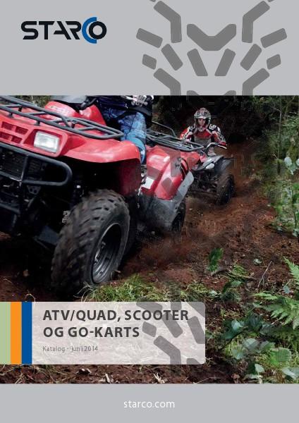 SubCat Leisure & Fun STARCO ATV/QUAD, Scooter og Go-Cart (DK)