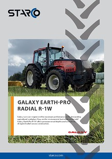 Flyer Galaxy Earth Pro