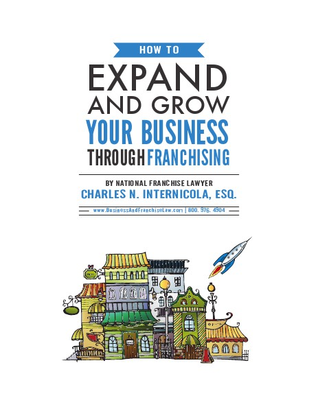 How to Expand Your Business Though Franchising 2014