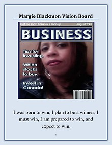 My Vision Board My Margie