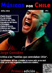 Musicos Por Chile-N°1 Jul. 2012