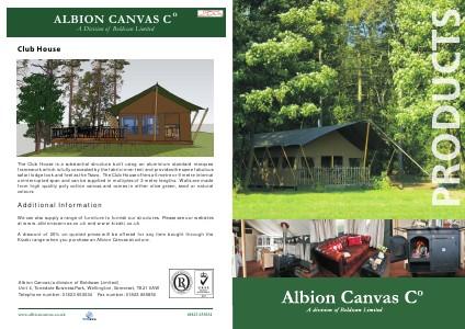 _TITLE_ Albion Canvas Company