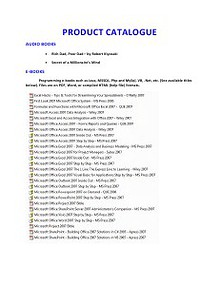 Product Catalog_v1
