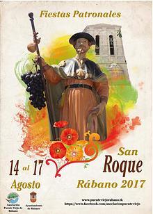 Programa Fiestas San Roque 2017