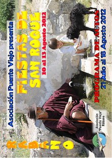 Programa Fiestas San Roque