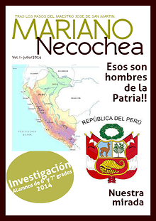 San Martín - Necochea, Esos Hombres de la Patria!!