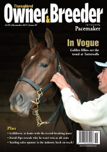 Thoroughbred Owner & Breeder Magazine Nov. 2011