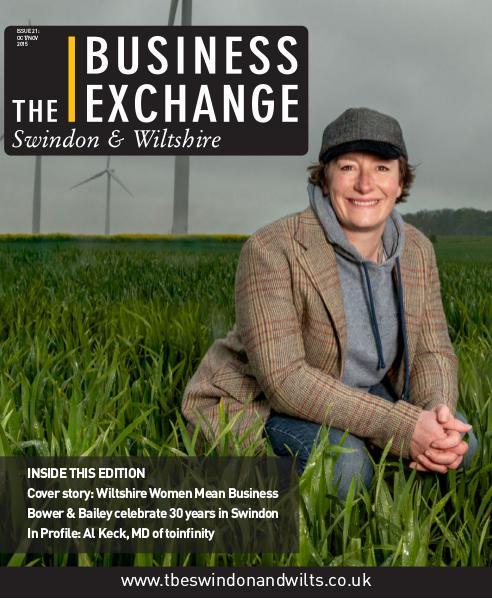 The Business Exchange Swindon & Wiltshire Edition 21: Oct/Nov 2015