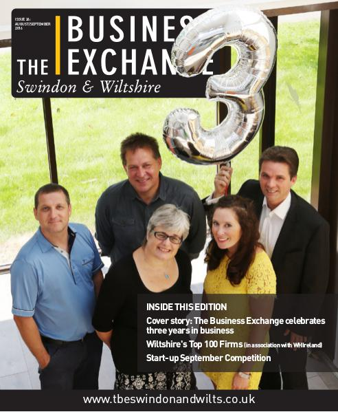 The Business Exchange Swindon & Wiltshire Edition 26: Aug/ Sept 2016