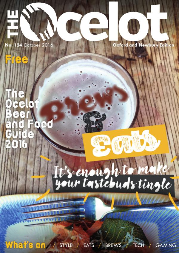 The Ocelot Oxford and Newbury 124 October 2016 edition