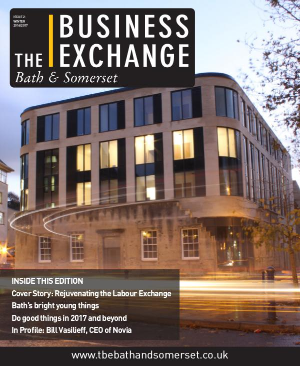 The Business Exchange Bath & Somerset Issue 2: Winter 2016/17