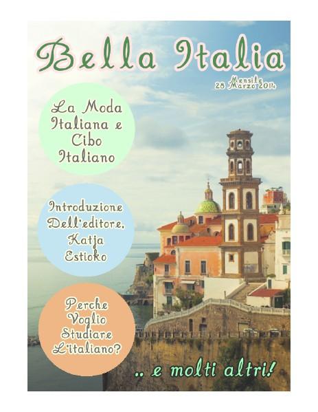 Bella Italia March 2014