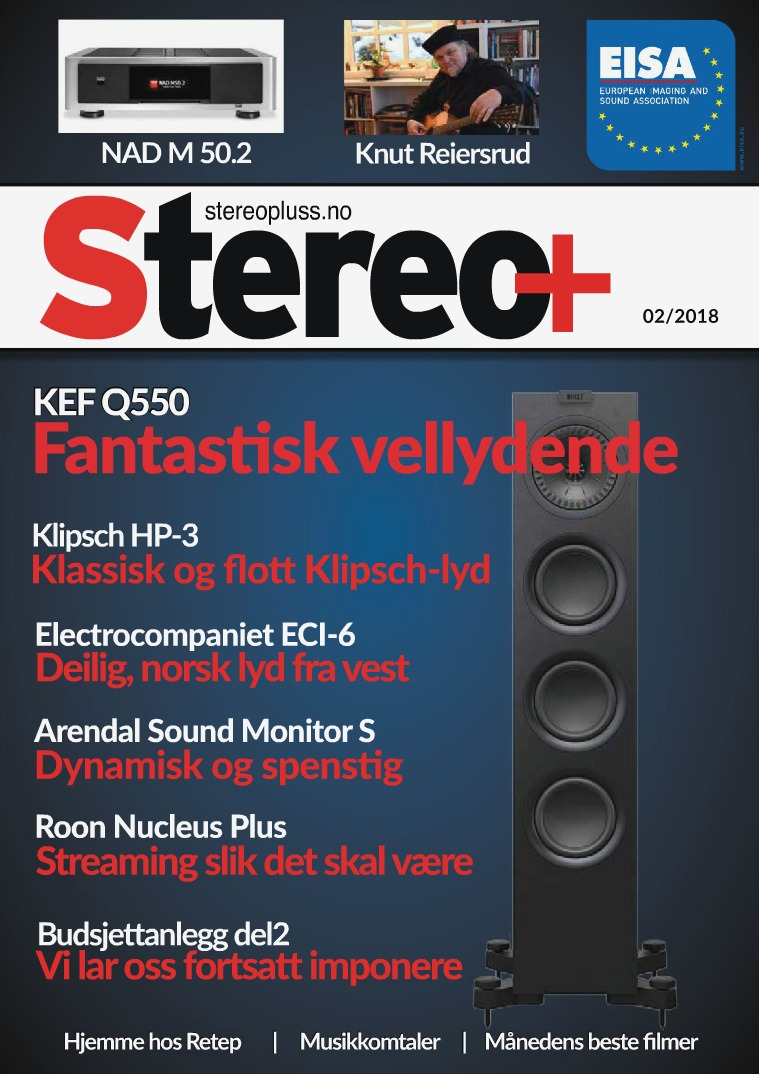 Stereo+ Stereopluss 2 2018