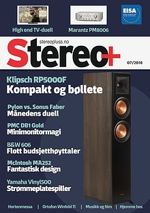 Stereo+ Stereopluss 7 2018