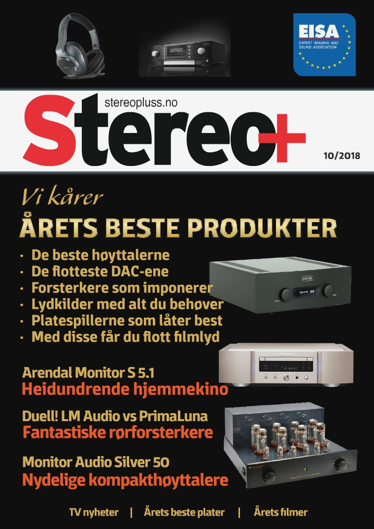 Stereo+ Stereopluss 10 2018