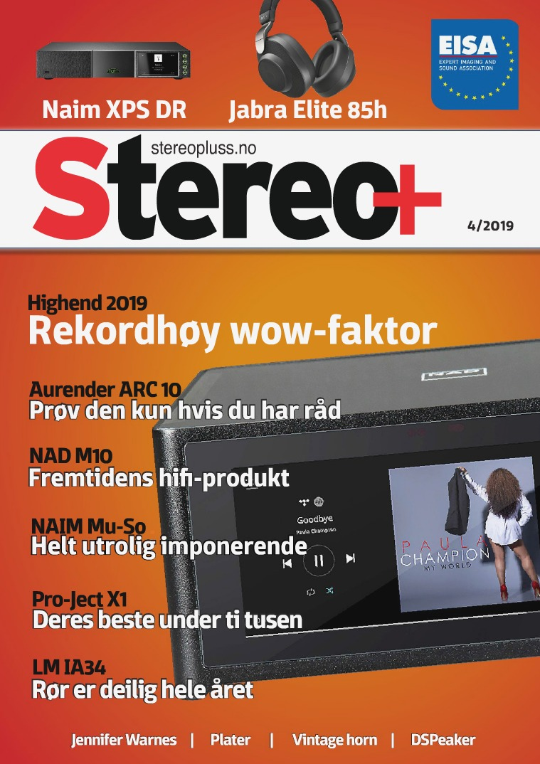Stereo+ Stereopluss 4 2019