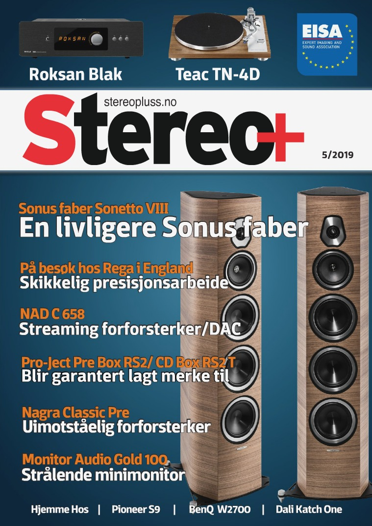 Stereo+ Stereopluss 5 2019