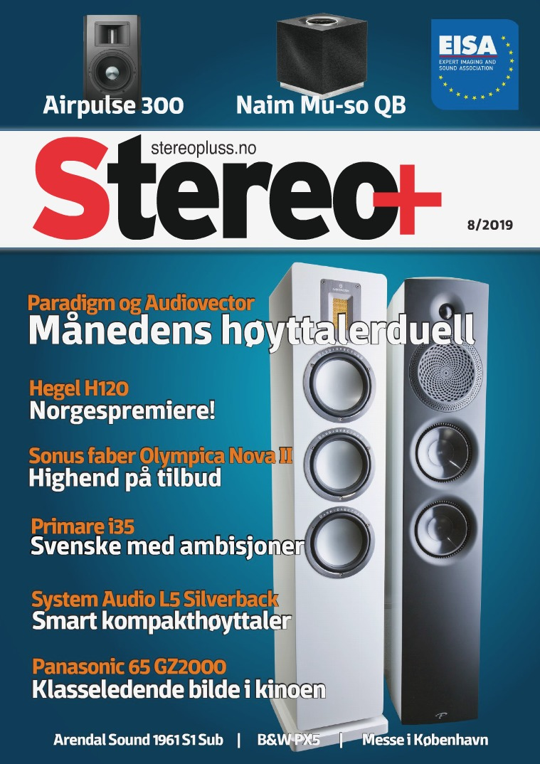 Stereo+ Stereopluss 8 2019
