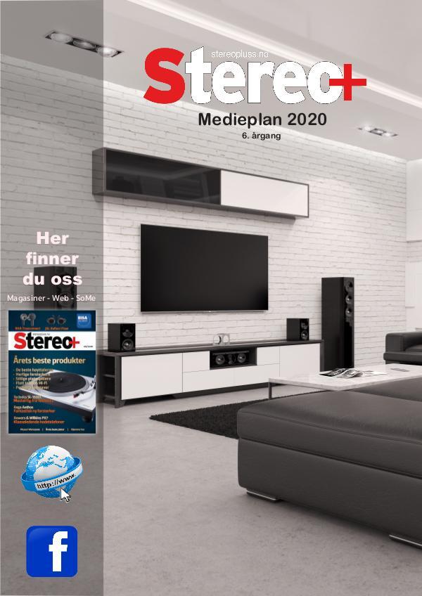 Stereo+ Medieplaner 2020