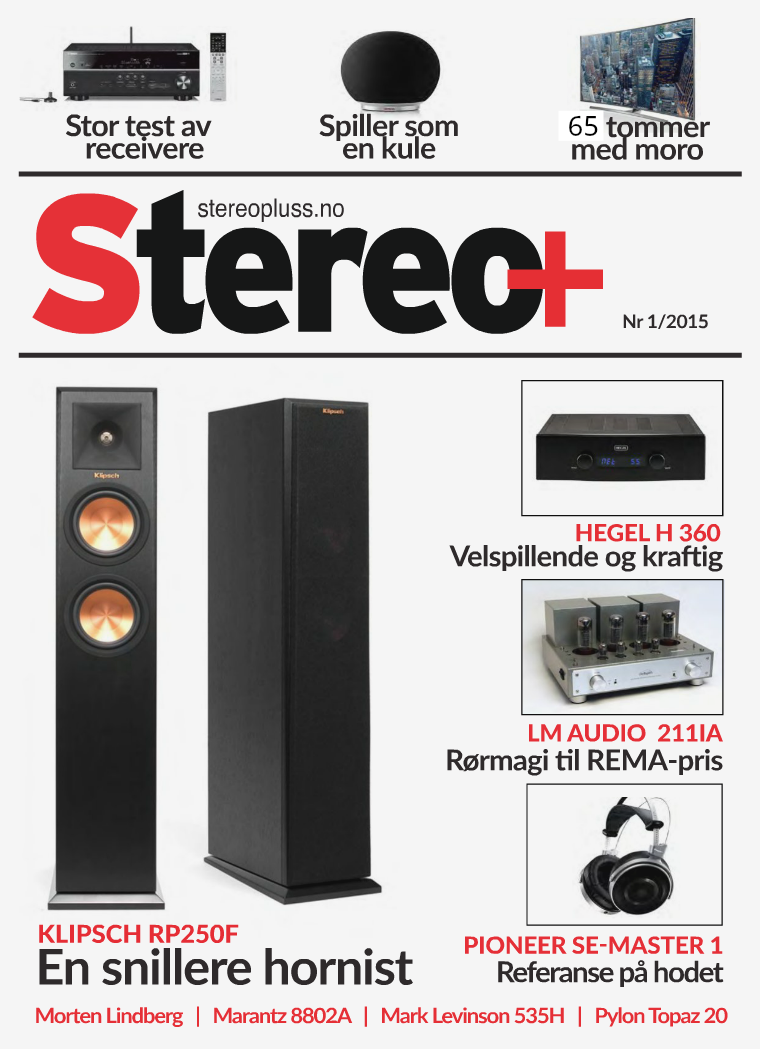 Stereo+ Stereopluss 1 2015