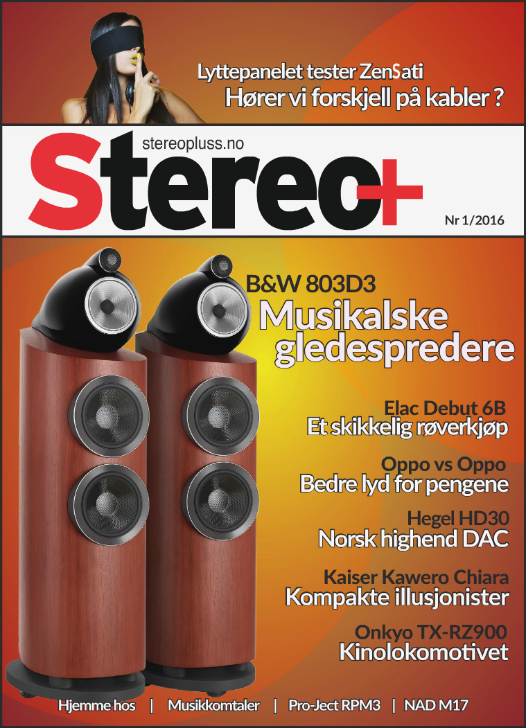 Stereo+ Stereopluss 1 2016