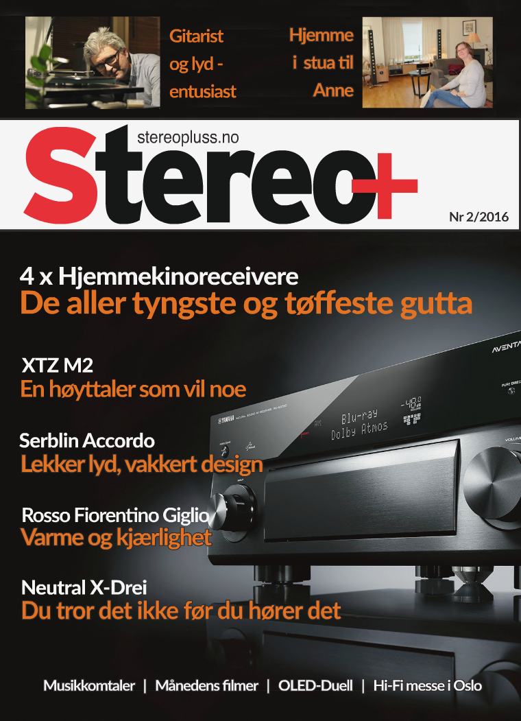 Stereo+ Stereopluss 2/2016