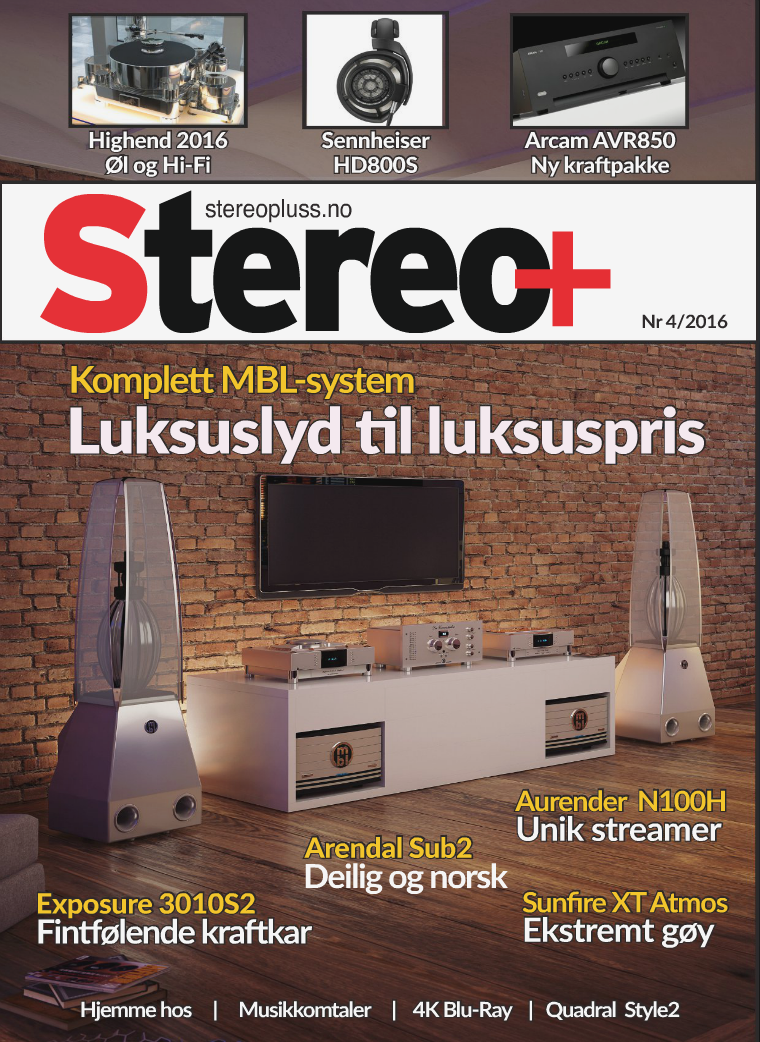 Stereo+ Stereopluss 4 2016