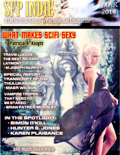 ASMSG Scifi Fantasy Paranormal Emagazine March 2014