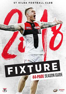 St Kilda Football Club - 2018 Season Guide