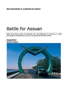 la battaglia per Assuan