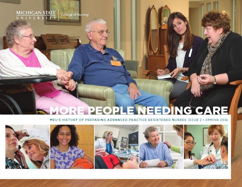 More People Needing Care Spring 2014