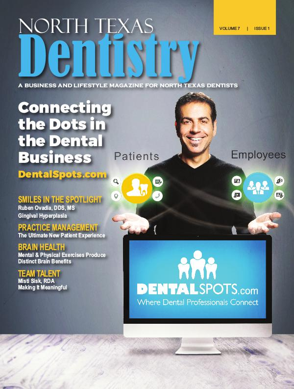 North Texas Dentistry Volume 7 Issue 1 Volume 7 Issue 1