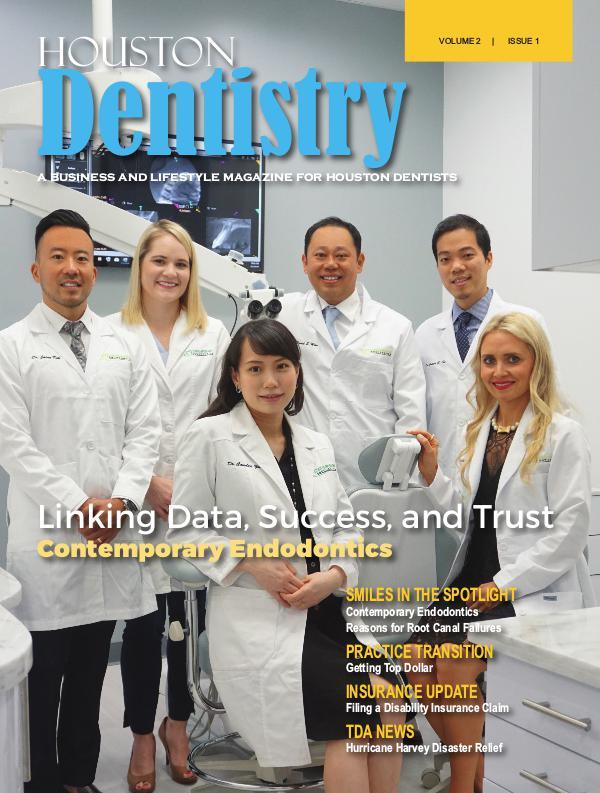 Houston Dentistry Volume 2 Issue 1 2017 HOUSTON ISSUE 1 DE